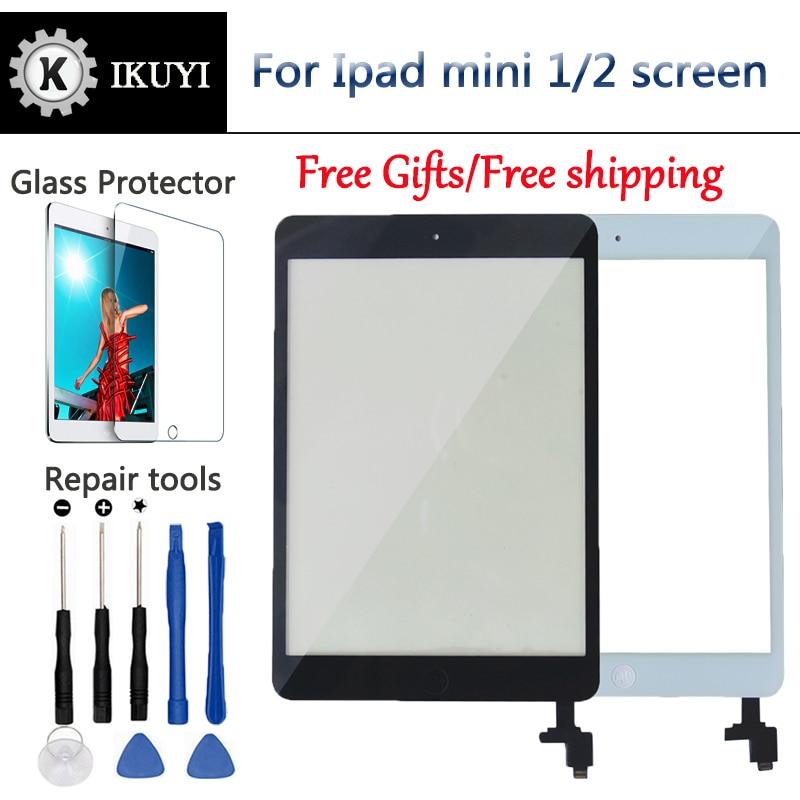 Nieuwe Voor Ipad Mini Screen 1 Ipad Mini 2 Touch Screen A1432 A1454 A1455 A1489 A1490 A149 Digitizer Ic Kabel home Button Mini2