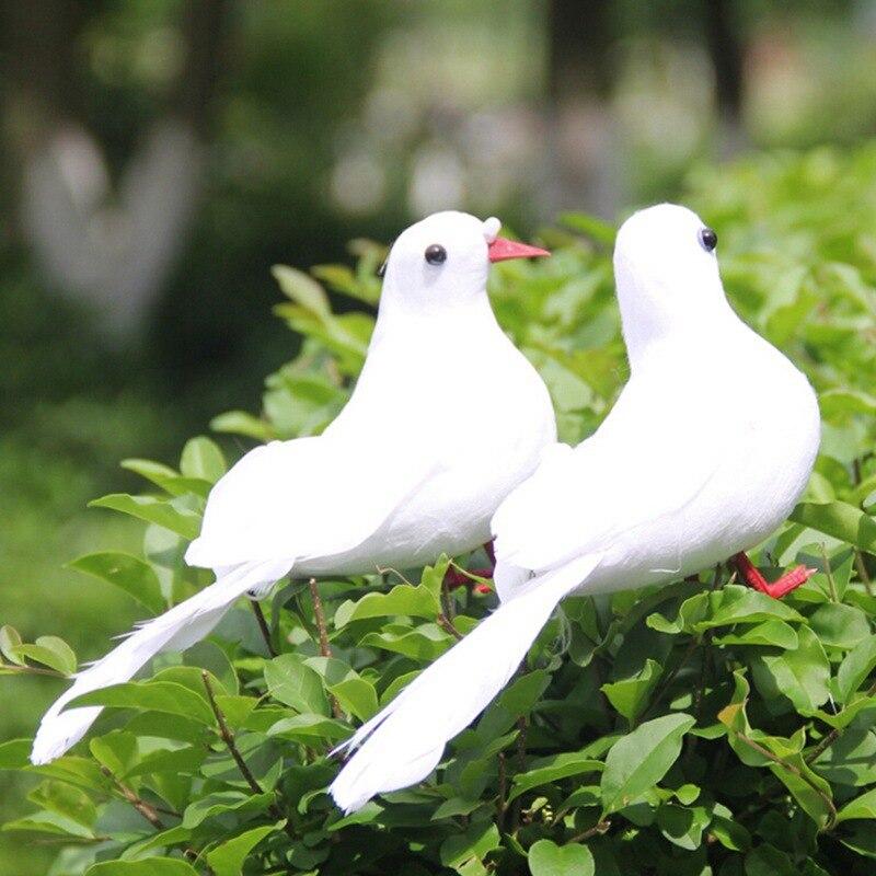 Simulation Peace Pigeon Brids For Garden Wedding Decoration For Mall Home Gardening Decoration pigeon Suit