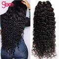30 Inch Deep Wave Bundles Curly Hair Extensions Human Hair Bundles GEM Remy Hair 3 / 4 Bundles Deal Brazilian Hair Weave Bundles