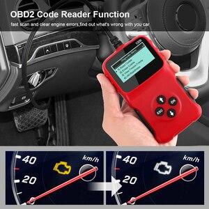 Image 5 - V309 OBD2 Code Reader OBD 2 Scanner OBDII Auto Diagnose Werkzeug Stecker und Spielen Digital Display Auto Zubehör ULME 327