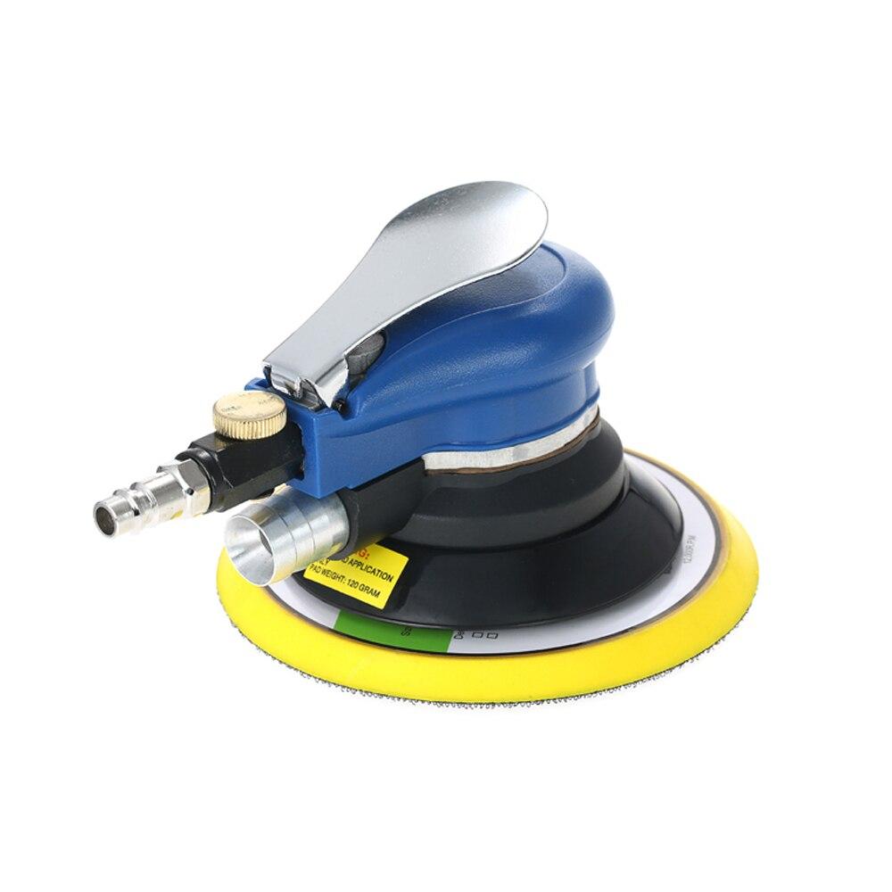 Пневматическая шлифовальная машина двойного действия, 10000 об/мин, инструмент для ухода за краской, полировальный станок, 6 дюймов, деревообрабатывающий электрический шлифовальный станок|Полировщики|   | АлиЭкспресс