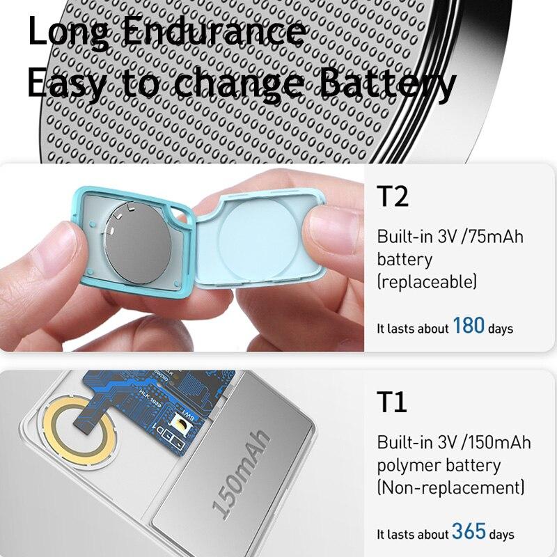 Ultimate SaleAlarm Tracker Wallet-Finder Bag Gps-Locator Baseus Anti-Lost Child Wireless 2-Types