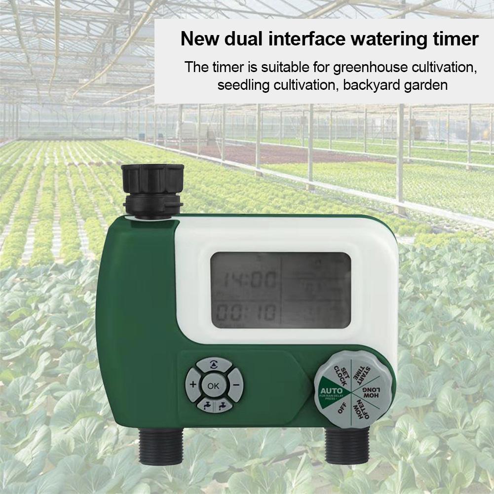 Automatische Elektronische LCD Display Sprinkler Controller Outdoor Garten Timer Automatische Bewässerung Gerät Bewässerung System Yard Werkzeug