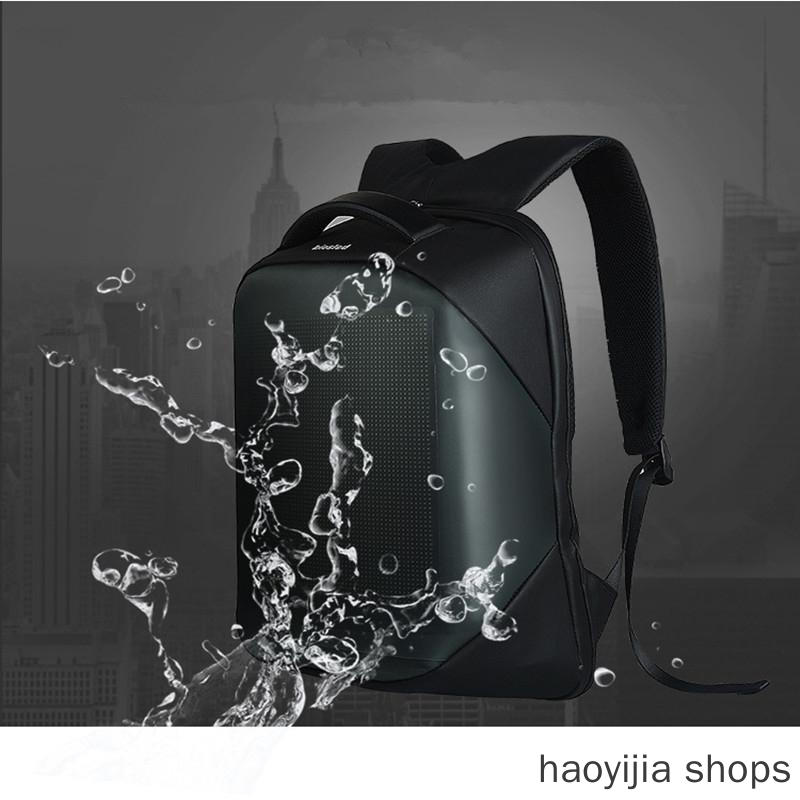 New With LED Display Backpack Waterproof Outdoor Walking Outdoor Advertising Backpack LED, The Latest Wifi Smart LED Backpack