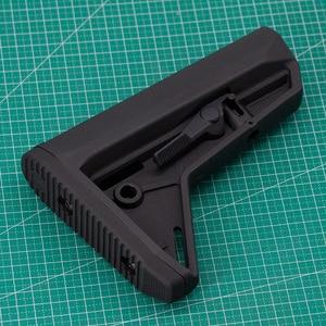 Image 4 - 屋外の戦術的なゲーム機器エアガン空気銃 jinming 8 Gen9 M4 AR15 ナイロンリアバットモデルライフルペイントボールアクセサリー