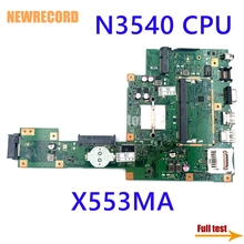 Laptop Motherboard Main-Board DDR3 N3540 Asus X553ma Processor NEWRECORD for with Full-Test
