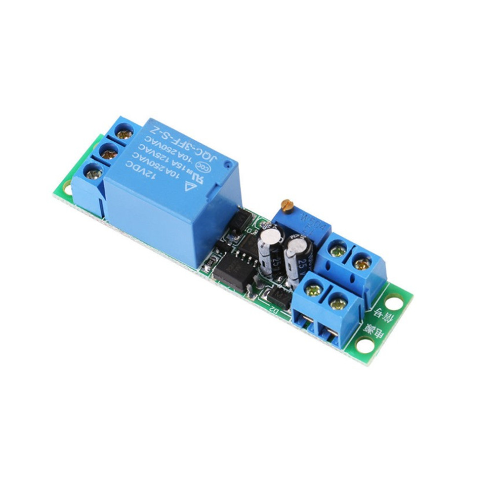 Taidacent Mini Adjustable 25s Signal Triggering Incobatr Egg Tuner 12V Electronic Timer Switch Time Delay Relay Switch Circuit