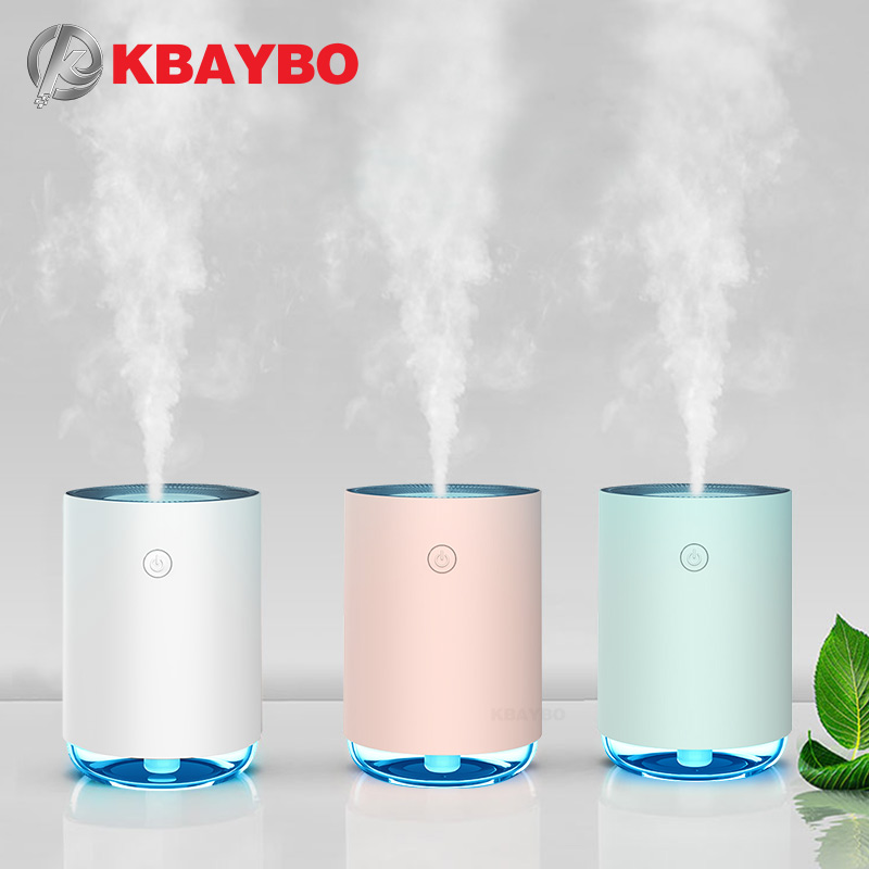 KBAYBO 220ML USB Ultrasonic Electric Aromatherapy Essential Oil Diffuser Air Humidifier Purifier Home With 7 Color LED Lights
