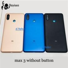 """6,"""" для Xiaomi mi Max 3 Max3, корпус, задняя крышка для батареи, чехол для мобильного телефона, ЖК-дисплей, передняя часть для mi ddle, рамка, запчасти"""