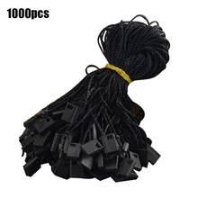1000 sztuk/paczka 7 cali powiesić sznurek do odzieży pieczęć Tag z sznurek do zawieszania biżuterii