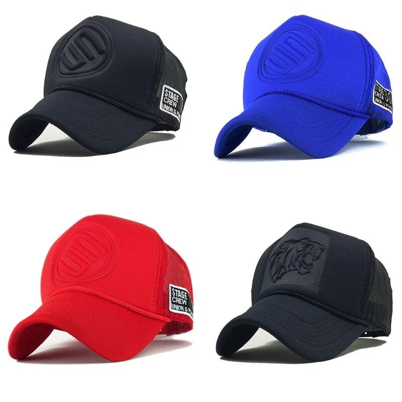2021 New Summer Mesh Snapback Hats Hip Hop leopard Print Baseball Caps Trucker Cap