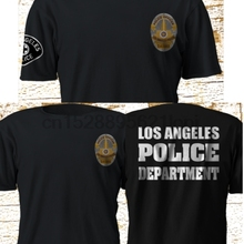 New LAPD Los Angeles Police Department SWAT Black T-Shirt S-4XL