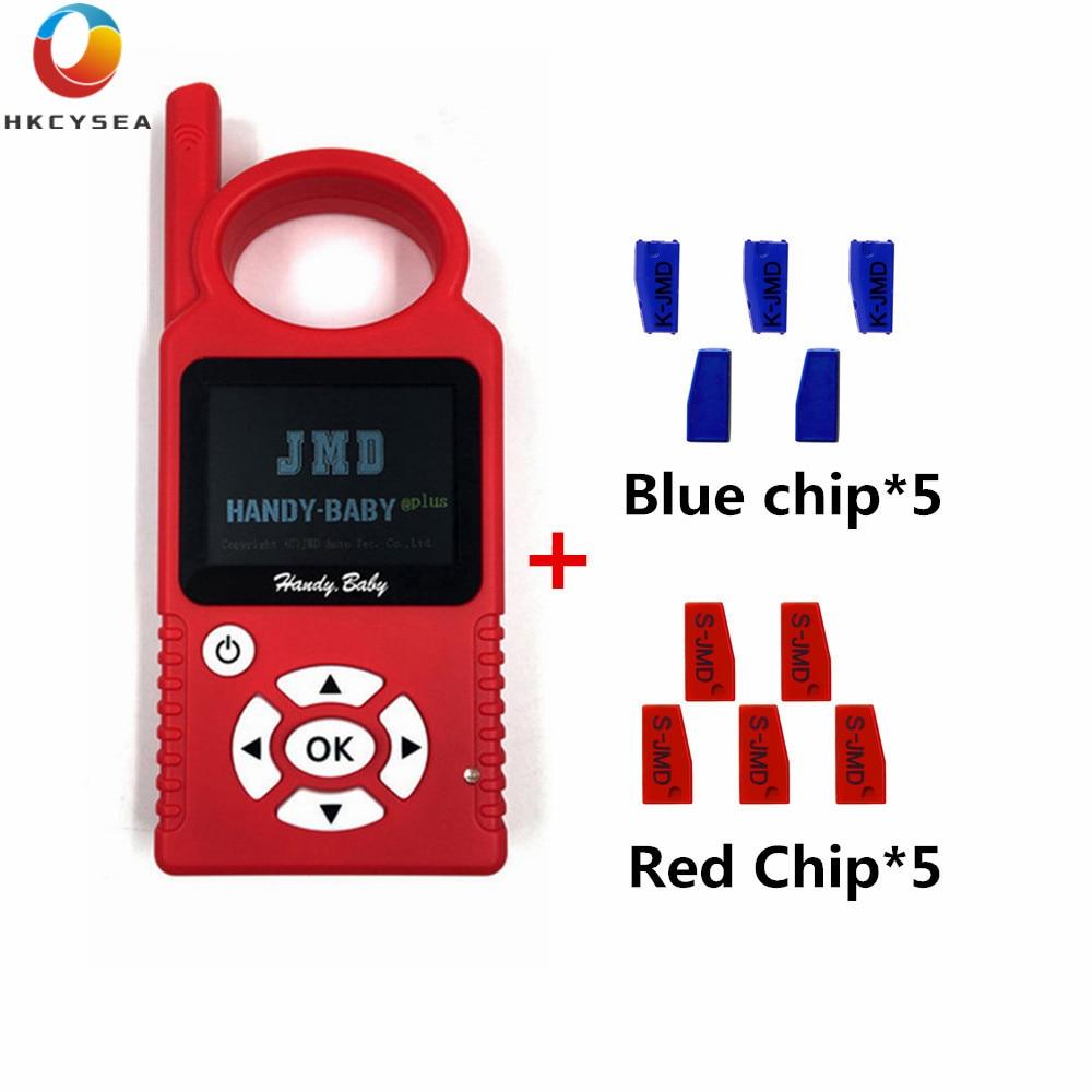 Grande venda v9.0.5 handy bebê auto programador chave com jmd46/48/rei/chip chave do carro vermelho suporte multi língua com g e 48 função