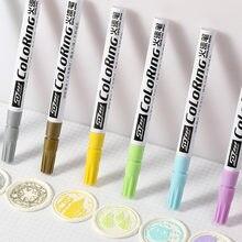 10 видов цветов маркировочная ручка декоративная восковая печать