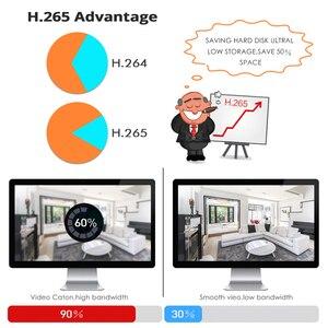 Image 4 - Hiseeu 8CH 1080P POE NVRระบบรักษาความปลอดภัยกล้องวงจรปิดชุดH.265 2.0MPเสียงบันทึกIPกล้องกันน้ำกลางแจ้งการเฝ้าระวังวิดีโอชุด