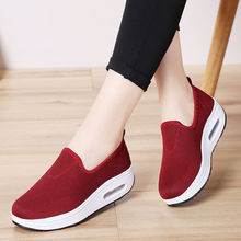 2020 New Women Casual Shoes Height Increasing Breathable Women Sneakers