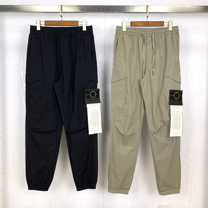 Best Version 1:1 Compass Badge Patched Women Men Pocket Pants Jogger Hiphop Streetwear Men Casual Jogger Pants Trousers