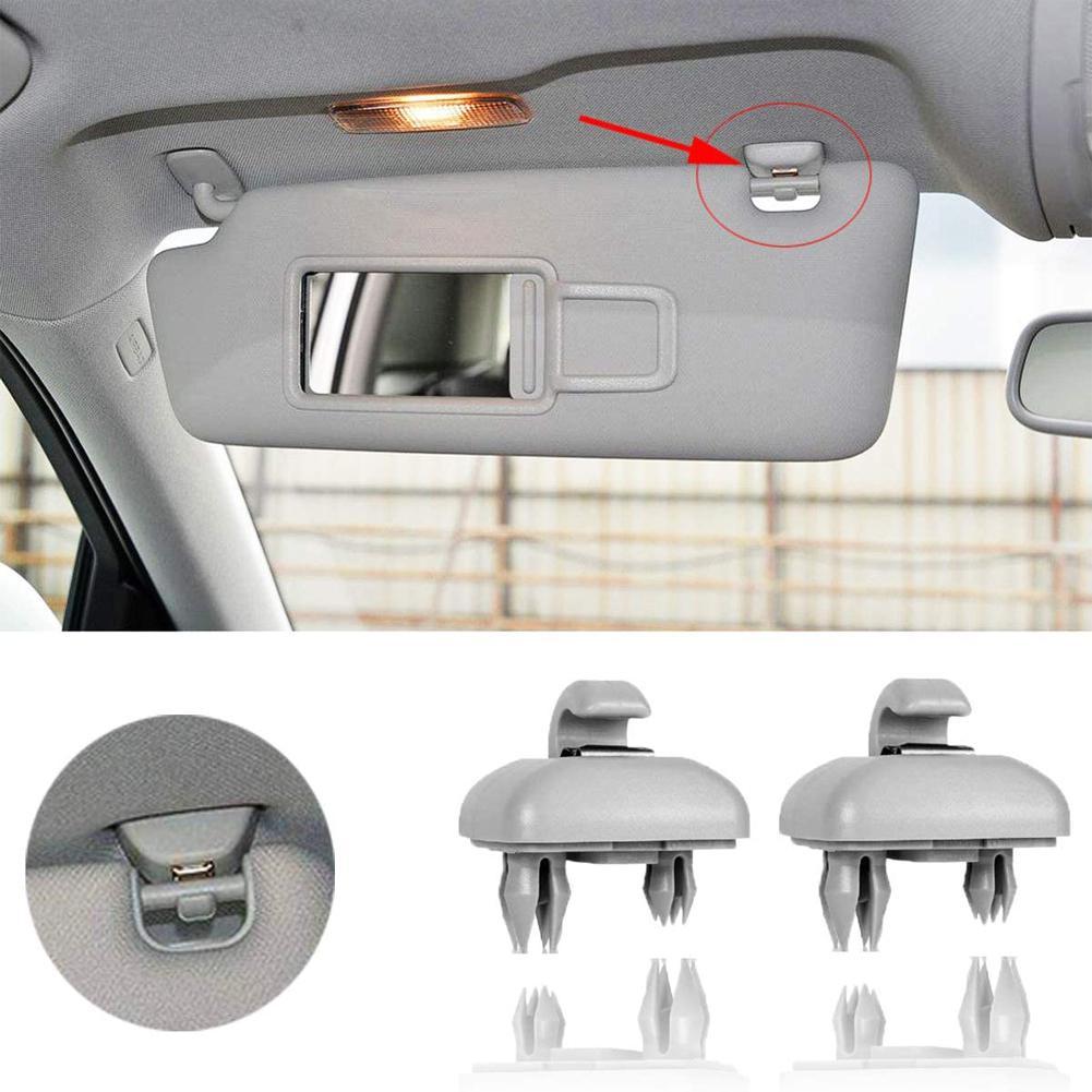1 шт. автомобильный зажим для солнцезащитного козырька, крючок, кронштейн для Audi A1 A3 A4L A5 A6 A7 Q5, вешалка, зажим, держатель, кронштейн, аксессуар...