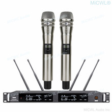 MiCWL ULXD la verdadera diversidad Digital inalámbrico de Karaoke micrófono DJ cantar concierto Vocal sistema 500m gran rango de 300 canales
