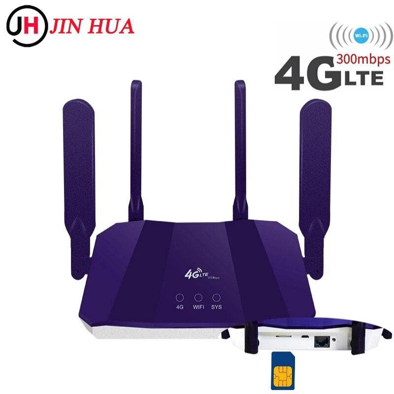 300 Мбит/с 4G Роутер Sim-карта Мобильный Wi-Fi точка доступа разблокированный автомобильный сетевой сим-роутер CPE903 Lte 4G Sim-карта беспроводной Wi-Fi ро...