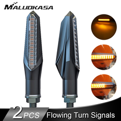 Universal led sinais de volta para a motocicleta seta âmbar lâmpada traseira piscando sinal luzes freio indicadores para honda yamaha 12 v