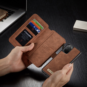 Image 3 - Zipper Wallet Case For Samsung Galaxy S20 S20 Plus Detachable Magnetic Case for Samsung S20 Ultra 14 Card Holders Flip Case