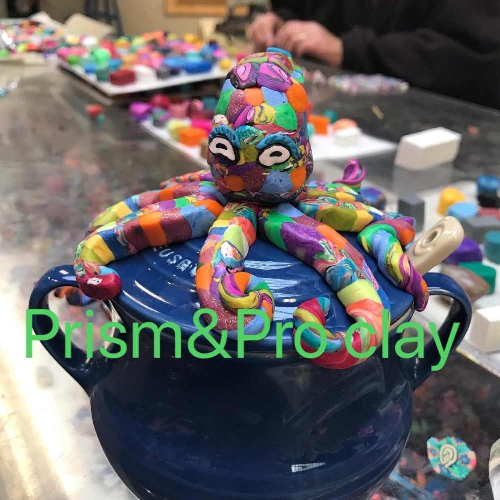 Skulptur polymer clay können verwendet in kunst klasse oder studio Ofen gebacken ton hand handwerk lehm 24 farbe mit roll pin