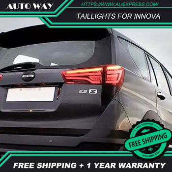 Car Styling case for Toyota INNOVA 2016-UP taillights LED Toyota INNOVA taillight TAIL Lights All LED Rear Lamp
