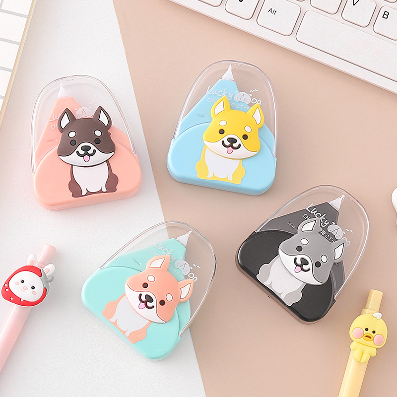 Cartoon Shiba Dog Correction Tape Cute Decorative Tape Sticker Stationery Gift Office School Supplies Promotional Gift