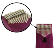 Irin 17 Key Kalimba Thumb Piano Acacia Wood Shockproof Thumb Piano with Karinba Box Tuning Tool Finger Cover Keyboard Instrument new hot walnut wood piano treble stick double ended mediant and alt for piano tuning mute