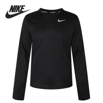 Original New Arrival  NIKE M NK PACER TOP CREW  Men's T-shirts  Long sleeve Sportswear
