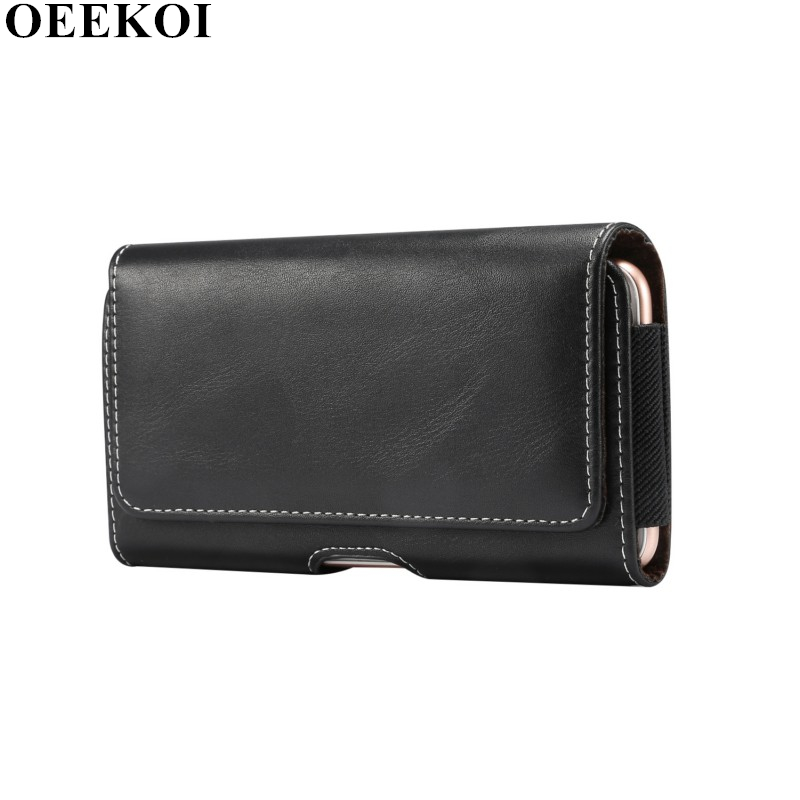 OEEKOI Artificial Sheepskin Pattern Belt Clip Pouch <font><b>Case</b></font> <font><b>for</b></font> <font><b>Lenovo</b></font> A889/<font><b>S939</b></font>/A880 image