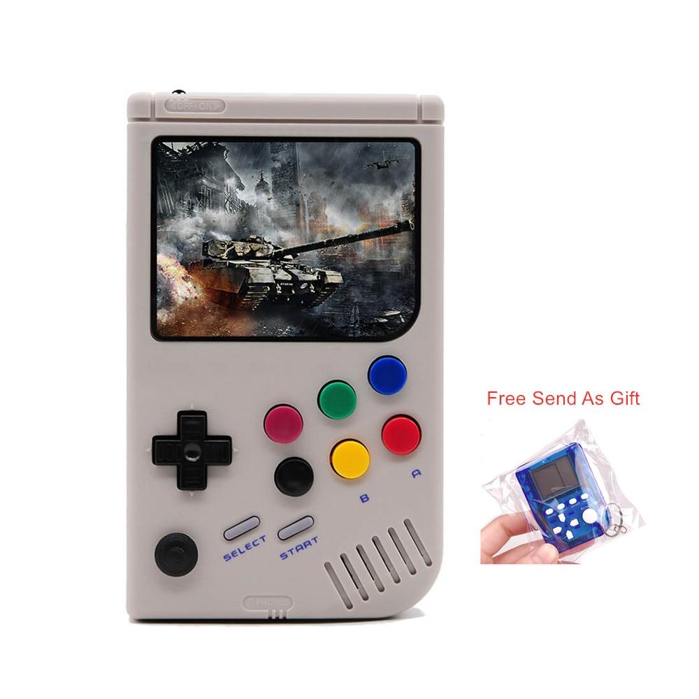 Porable Retro LCL-Pi Ragazzo Video Console di Gioco Raspberry Pi 3A + Per Game Boy 3.5 Pollici Tenuto In Mano del Gioco lettore Built-In 5000 Giochi