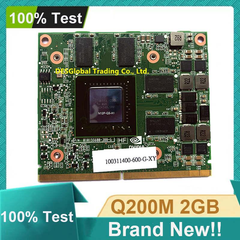 Brand New Quadro 2000M Q2000M 2GB N12P-Q3-A1 VGA Video Graphic Card For HP 8540W 8540P 8560W Dell M4600 Working Perfectly