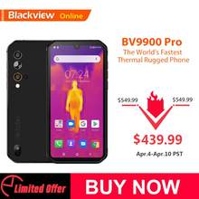 Blackview BV9900 Pro Fastest Thermal imaging Smartphone Helio P90 Android 9.0 6GB+128GB 48MP Waterproof Rugged Mobile Phone(China)