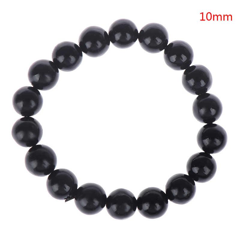100% prawdziwe naturalne czarnego jadeitu Sibin Bian kamień igły Byanshi Bianshi SI Bin ręcznie wiersz krótkie bransoletka opieki zdrowotnej