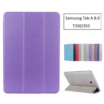 Lujo Stand Pu funda de cuero para Samsung Galaxy Tab A 8,0...