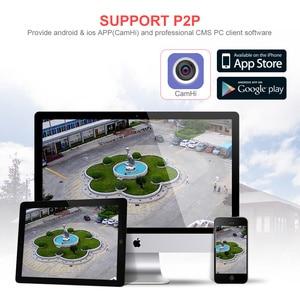 Image 5 - Cámara de tarjeta SIM 3G 4G HD 5MP cámara de seguridad exterior inalámbrica bala CCTV Audio IR 20M P2P gatillo alarma de sonido APP CamHi