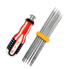 6 in 1 Portable Screwdriver Kit Profession Precision Instrument Repair Tool Kit Suitable for All Kinds of Electrical Maintenance