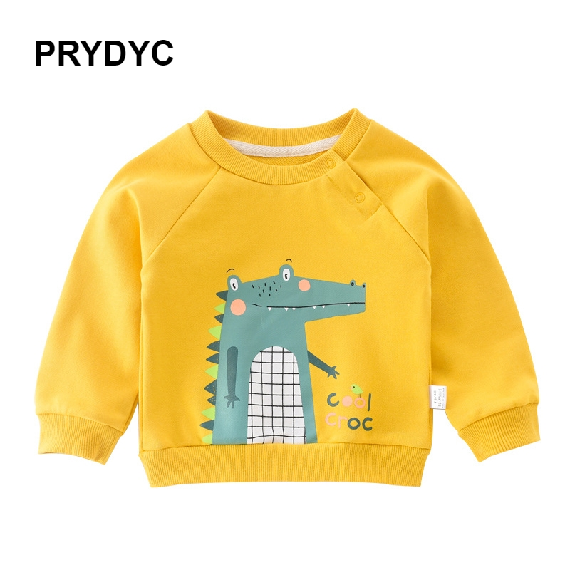 PRYDYC Baby Girls Boy Cartoon Cotton Animal Fashion Clothes Kids Casual Unisex Winter Autumn Spring Sweatshirts Children Hoodies in Hoodies Sweatshirts from Mother Kids