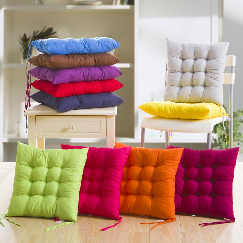 New Arrival Soft Thicken Pad Chair Cushion Tie On Seat Dining Room Kitchen Office Decor