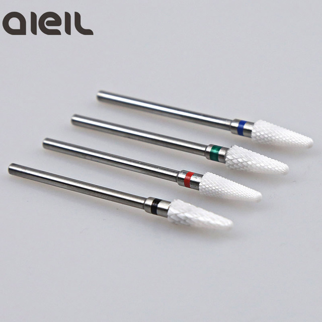 Ceramic Cutter Nail Drill Bit Ceramic Cutters For Manicure Machine Cutter for Manicure Milling Cutter for Nail Art Tool 5