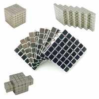 5mm cubo neo metaballs cubo mágico magnético bucky magcube blocos de ensino bolas com caixa de metal