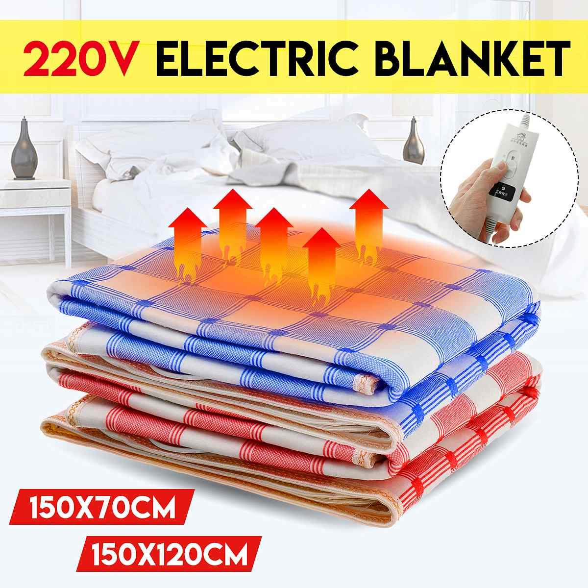 220V Electric Warm 4 + Electric Heating Blanket <font><b>Mattress</b></font> Body