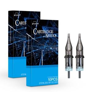 Image 1 - 20 pcs RM Premade Sterilized Round Curved Magnum Tattoo Cartridge Needles Supply