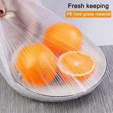 100 pces plástico reusável armazenamento de alimentos tampas tigela elástica envoltório ao ar livre piquenique viagem portátil acessórios de cozinha #35