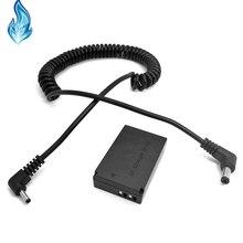 5525 PS700 8V Dc Kabel + LP E12 Batterij Connector DR E12 DC Koppeling voor Canon EOS M M2 m10 M50 Digitale Camera S
