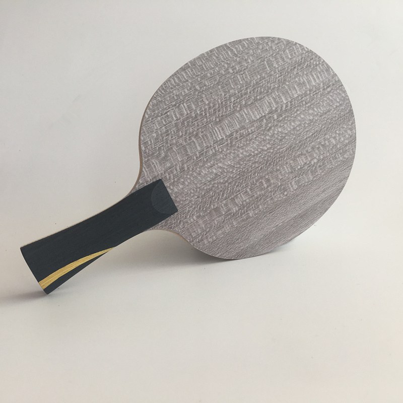 Lemuria 5 PLY Pure Wood Table Tennis Blade Offensive FL Handle Or ST Hanlde Ping Pong Bat Racket For Table Tennis Funs
