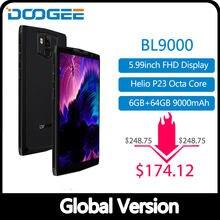 DOOGEE BL9000 Smartphone 5V5A carga de Flash 9000mAh de carga inalámbrico 6GB 64GB Helio P23 Octa Core 5,99