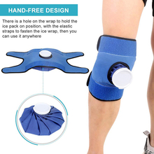 Ice-Pack Reusable Knee-Wrist Sports-Injuries Cold Hot And with Strap Lightweight Surgery